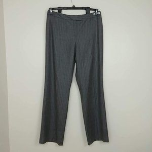 NWT Pendleton Wool Dress Pants Gray Tall 18 #3441
